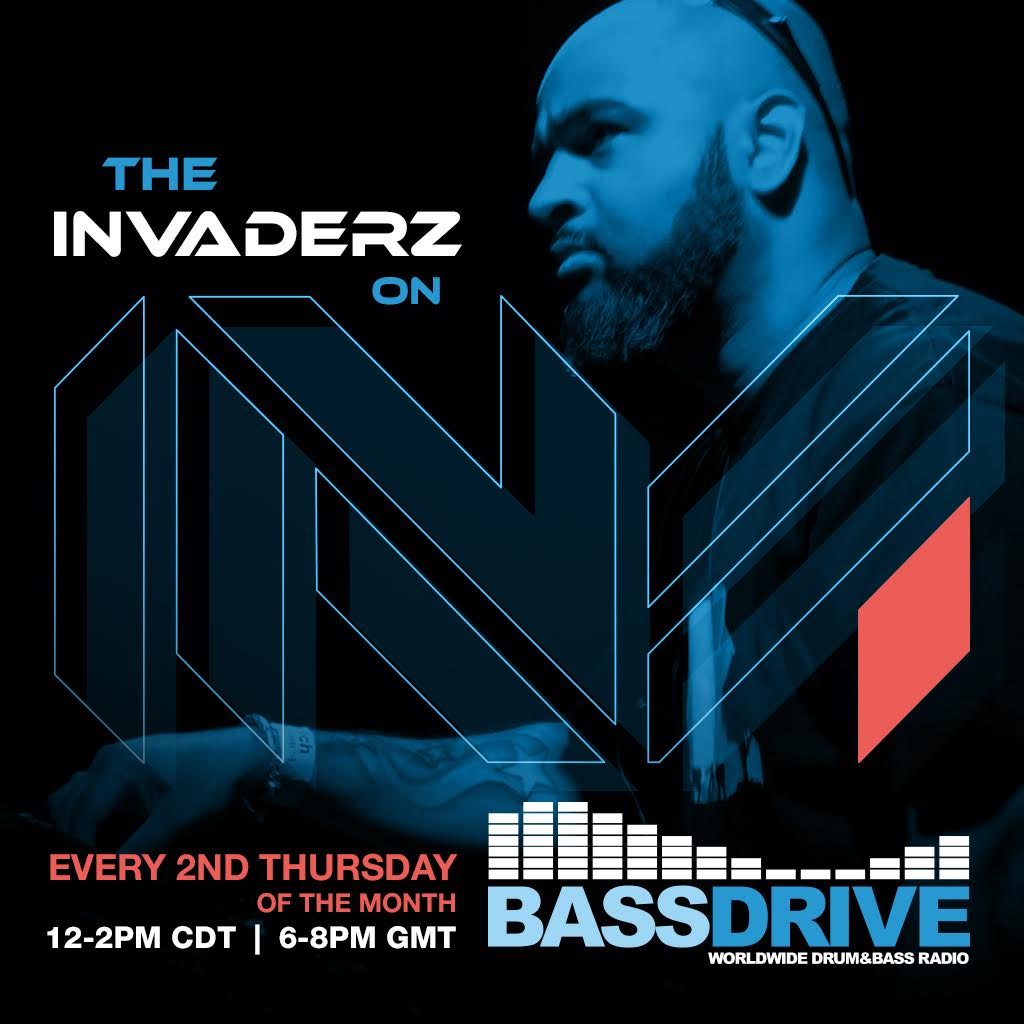 The Invaderz on Bassdrive